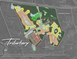 Tributary will include a park, a site for a school and 3,200 homes.