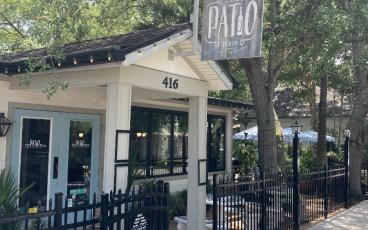 Customers of The Patio Place, located at South Fifth and Ash Streets,  enjoy sitting outside to eat. When someone walks through the door, they grab their own silverware and their own menu. DILLON BASSE/FOR THE NEWS-LEADER
