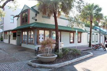 Fernandina Beach's Historic District Council approved demolition plans for these buildings, contingent on Bubbles Enterprises submitting an application for a permit to build a restaurant in their place. Bubbles Enterprises said it has not yet applied for that permit.