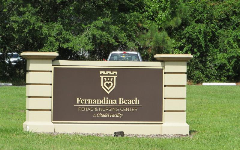 Fernandina Beach Rehab and Nursing Center is located at 1625 Lime Street. JULIA ROBERTS/NEWS-LEADER