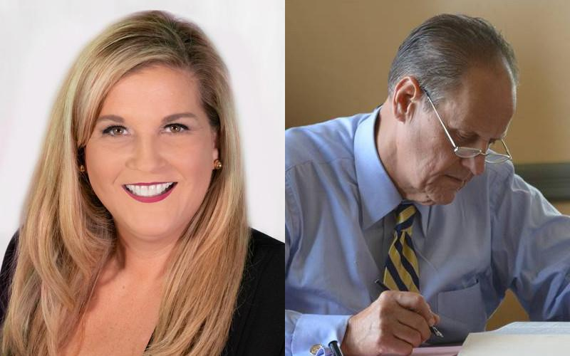 Jenny Higginbotham Barrett unofficially beat John Cascone for county judge in a runoff election Tuesday after neither garnered 50% plus one vote in a four-way race during the August primary.