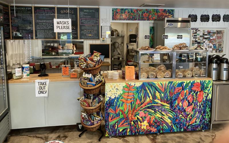 Aloha Bagel is located at 432 S. Eighth St. in Fernandina Beach. DILLON BASSE/FOR THE NEWS-LEADER
